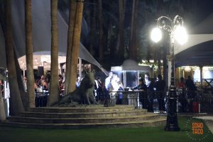 SOHO TACO Gourmet Taco Catering - Wedding - Empire Polo Club - Indio CA - Grilling for Guests