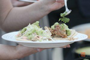 SOHO TACO Gourmet Taco Catering - Adding Cilantro - Dos Pueblos Orchid Farm - Wedding Goleta