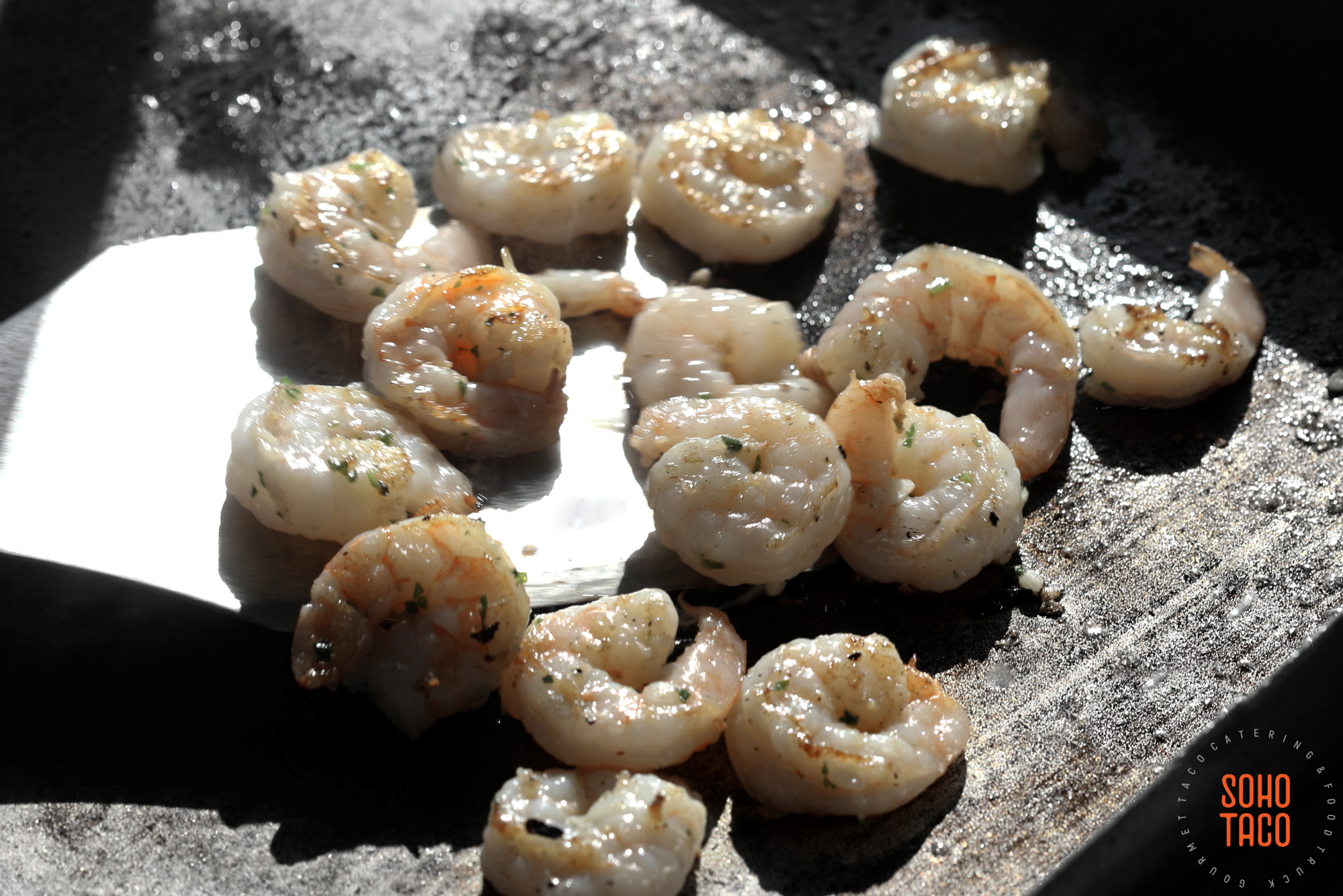 Flipping Shrimp On The Grill Today Throughout The