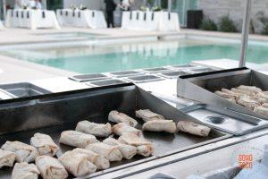 SOHO TACO Gourmet Taco Catering - Indio Polo Villas Wedding - Mini Bean & Cheese Burritos