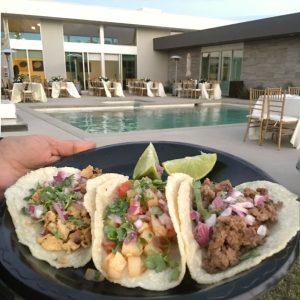 SOHO TACO Gourmet Taco Catering - Indio Polo Villas Wedding - Taco Selections