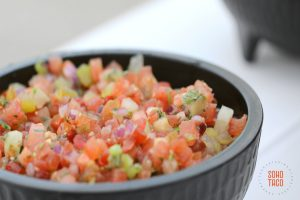 SOHO TACO Gourmet Taco Catering - Pico De Gallo - Orange County OC - Los Angeles LA