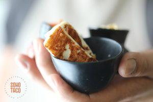 SOHO TACO Gourmet Taco Catering - Taco Jardinero - Queso Panela
