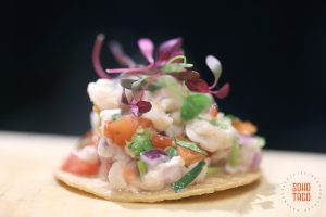 SOHO TACO Gourmet Taco Catering - Ceviche - Bridal Showplace - Anaheim Marriott Suites - Orange County - OC