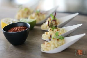 SOHO TACO Gourmet Taco Catering - Cucharadas de Esquites - Appetizers - Orange County - Los Angeles
