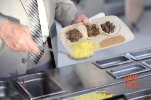 SOHO TACO Gourmet Taco Catering - Environmental Nature Center Wedding - Enjoying Lemon Rice