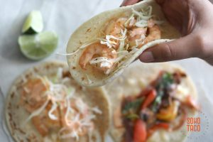 SOHO TACO Gourmet Taco Catering - Shrimp & Veggie Tacos - Orange County OC