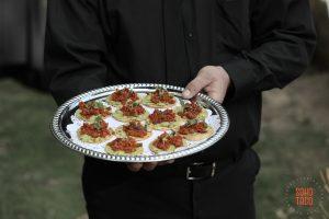 SOHO TACO Gourmet Taco Catering - Wedding - Hummingbird Nest Ranch - Santa Susana - Simi Valley - Tostaditas de Chorizo