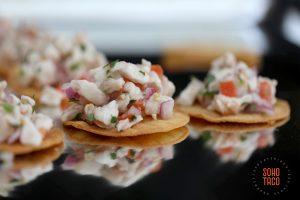 SOHO TACO Gourmet Taco Catering - Hummingbird Nest Ranch - Wedding - Simi Valley - Santa Susana - Ceviche