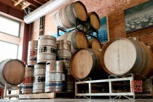 SOHO TACO Gourmet Taco Catering - The Good Beer - Appetizer & Beer Pairing - Barrels & Kegs