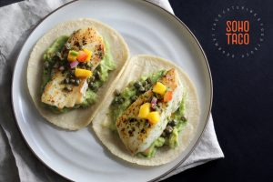 SOHO TACO Gourmet Taco Catering - Halibut Taco - Orange County - OC