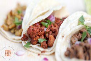 SOHO TACO Gourmet Taco Catering - Pollo - Al Pastor - Carne Asada - Close Up Shot - Orange County CA