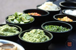 SOHO TACO Gourmet Taco Catering - Wedding - The Millwick - Los Angeles - Condiments & Salsas