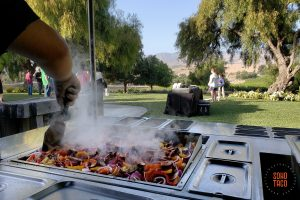 SOHO TACO Gourmet Taco Catering - Greengate Ranch & Vineyard - Wedding Rehearsal - From From Taco Cart To Valley