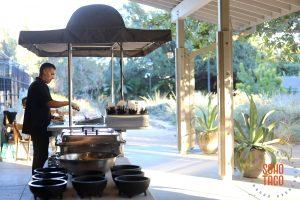 SOHO TACO Gourmet Taco Cateing - Fullerton Arboretum - Grilling - Wedding