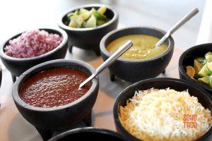 SOHO TACO Gourmet Taco Catering - Fullerton Arboretum - Condiments & Salsas