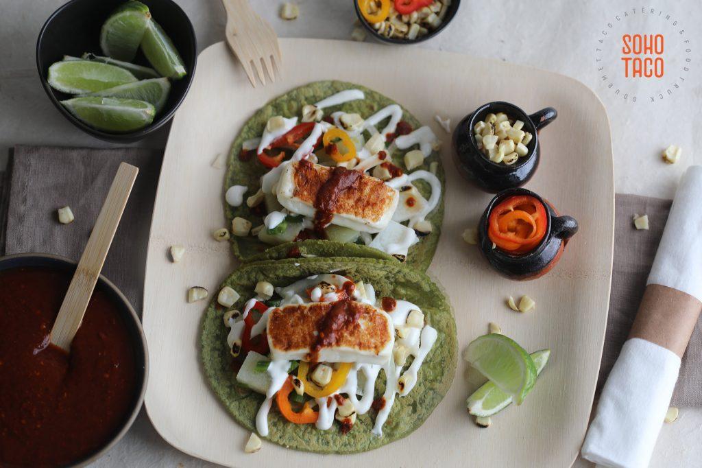 SOHO TACO Gourmet Taco Caring - National Taco Day - Taco Jardinero