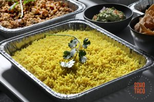 SOHO TACO Gourmet Taco Catering - Drop Off - Delivery - Lemon Rice Side Dish