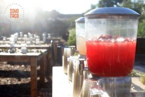 SOHO TACO Gourmet Taco Catering - Riverbed Farm Wedding - Anaheim - Orange County OC - Aguas Frescas