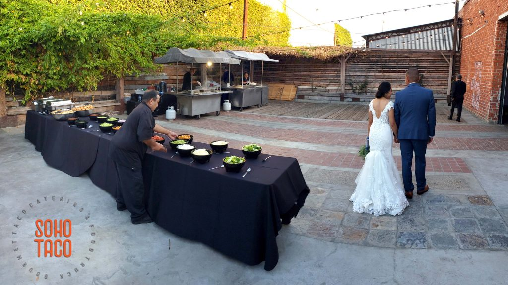SOHO TACO Gourmet Taco Catering - Seventh Place - Wedding - Los Angeles CA