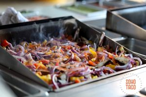 SOHO TACO Gourmet Taco Catering - Los Angeles - Facebook LA - Veggies On Grill