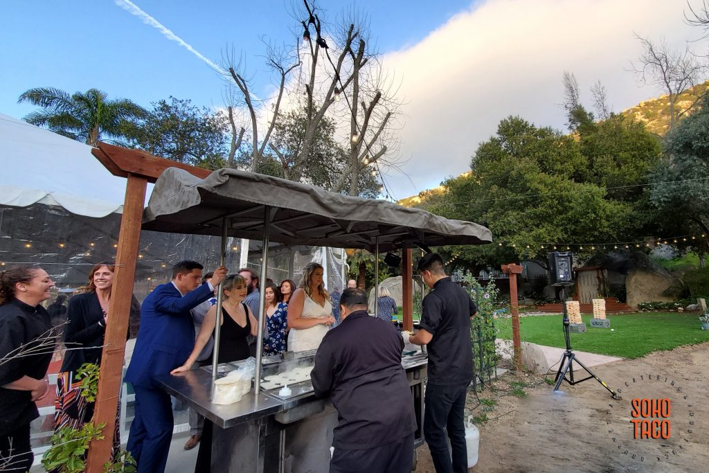 SOHO TACO Gourmet Taco Catering - Temecula Creek Cottage - Dinner Service