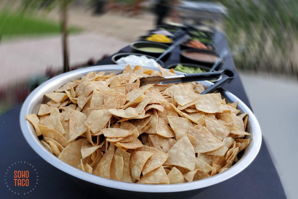 SOHO TACO Gourmet Taco Catering - Temecula Creek Cottage - Tortilla Chips