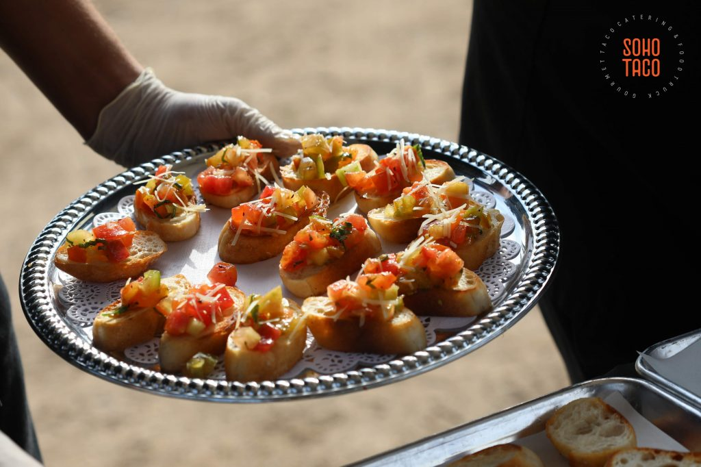 SOHO TACO Gourmet Taco Catering - Temecula Creek Cottage - Wedding - Rebanadas de Tomates Heirloom