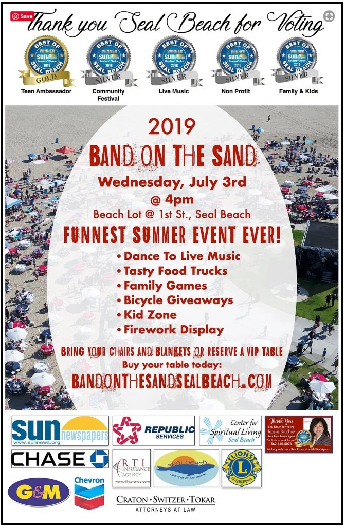 SOHO TACO Gourmet Taco Catering - Food Truck - Band On The Sand - Seal Beach CA