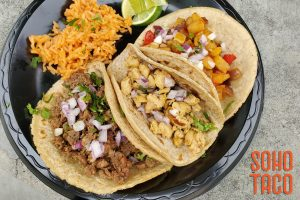 SOHO TACO Gourmet Taco Catering - Newport Sea Base - Newport Beach - Carne Asada Pollo Asado & Spicy Potato
