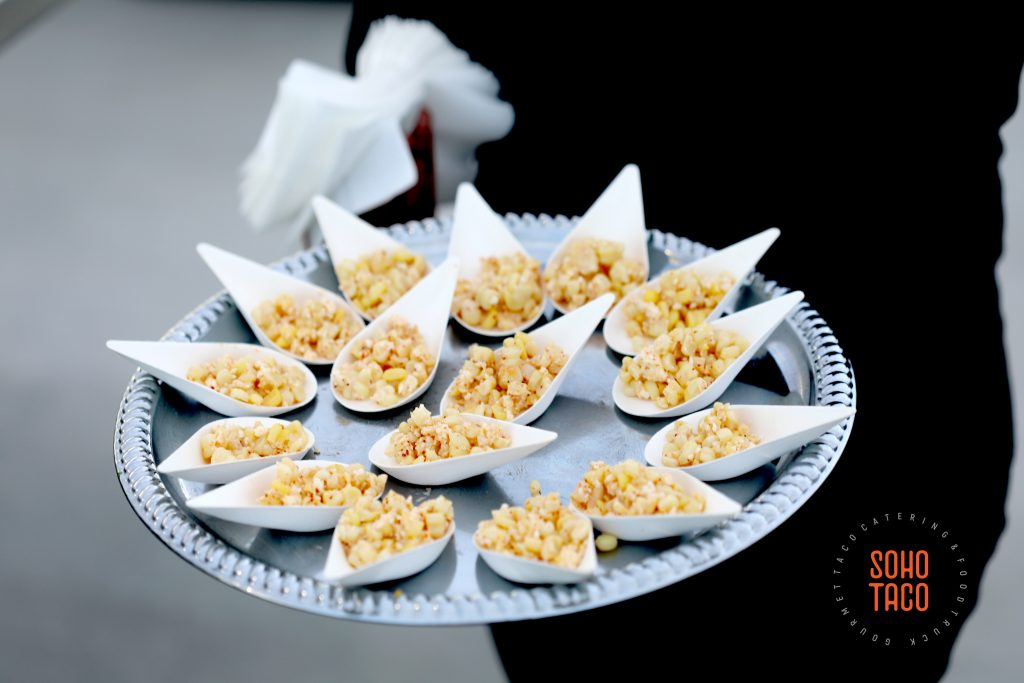 SOHO TACO Gourmet Taco Catering - Hicksville Trailer Palace - Wedding - Esquites Appetizers