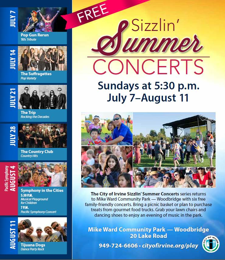 SOHO TACO Gourmet Taco Catering - City of Irvine - 2019 Summer Concert Series
