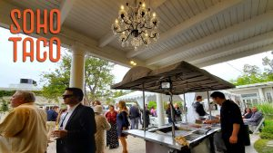 SOHO TACO Gourmet Taco Catering - Dove Canyon Courtyard - Wedding Catering - Grilling & Thrilling