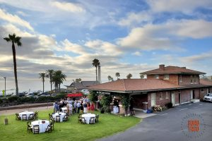 SOHO TACO Gourmet Taco Catering - Del Mar Surf Station - Wedding Engagement Party - Facilities with the Pacific as a back drop