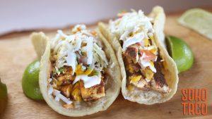SOHO TACO Gourmet Taco Truck - August 2019 Special - El Taco Enchilado