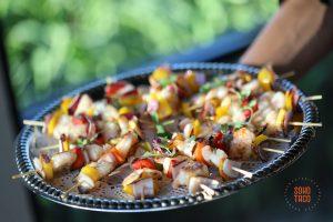 SOHO TACO Gourmet Taco Catering - Shrimp Skewers